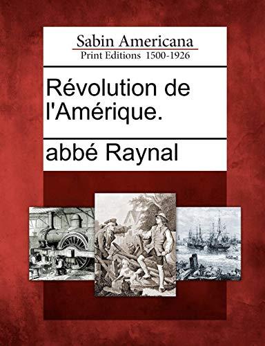 R Volution de L'Am Rique. PDF Books