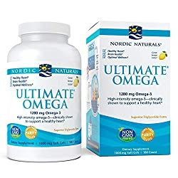 Nordic Naturals - Ultimate Omega is one of the best supplements