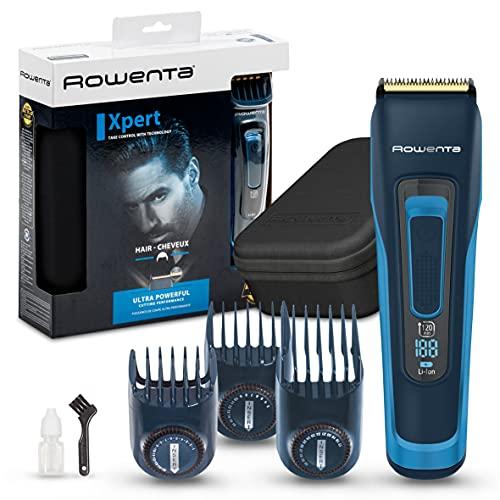 Rowenta TN5241 Advancer Xpert, Cortapelos para Hombre, Azul