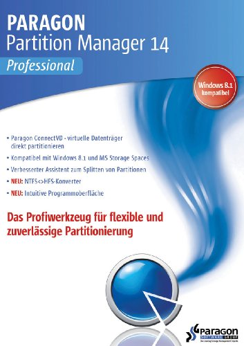 Paragon Partition Manager 14 Professional [Download]