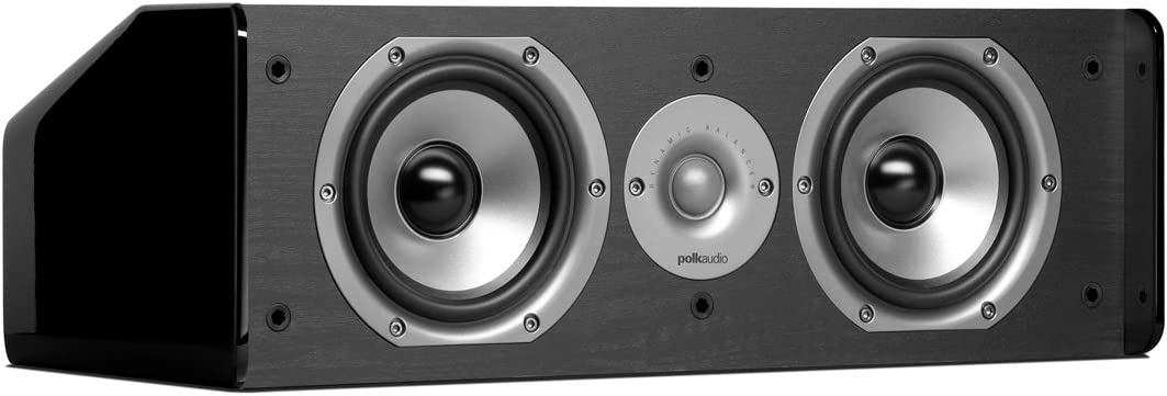 Amazon.com: Polk Audio CS8 Center Channel Speaker (Single, Black