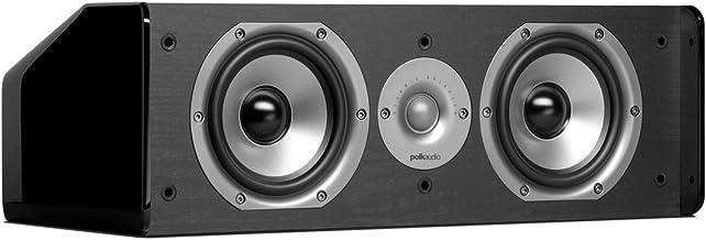 Polk Audio CS10 Center Channel Speaker (Single, Black)