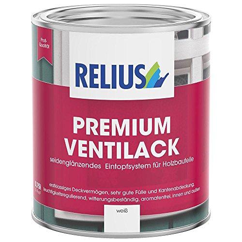 Relius Venti 1-2-3 Fensterlack 0,75l, 7-8 m²