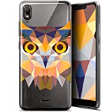 Ultra-Slim Polygon Animal Owl Case for 5.93 Inch Wiko View