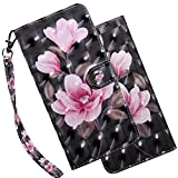 Asdsinfor Huawei Y5 2018 Lite case 3D Stylish Wallet Case Credit Cards Slot with...