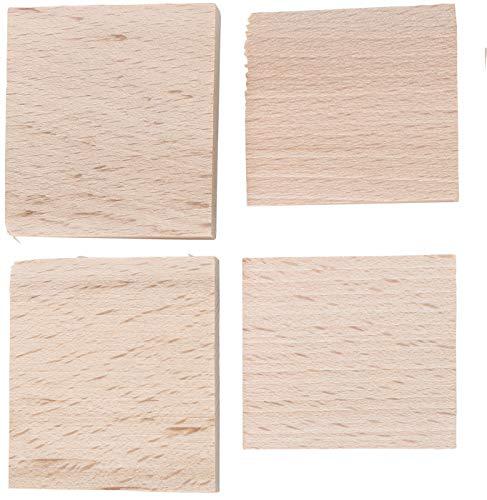 Kraftmann 86678 | Juego de cuñas de madera | 4 piezas