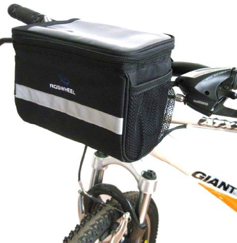 ROSWHEEL UK / Europe Cycling Bike Bicycle Handlebar Front Basket Bag