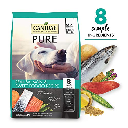 CANIDAE PURE Real Salmon, Limited Ingredient,...