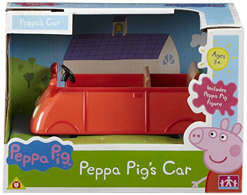 Boti Europe B.V. 33082 - Peppa's Auto ohne Figur, ca. 15 x 9 x 6,5 cm, rot