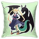 Jupsero Tiyole Kibe 4 Kiba Inuzuka Anime Throw Pillow Funda Decorativa 18x18 Pulgadas Throw Pillow Cover Home Sofá Sofá Cama Forma Cuadrada Sin Almohada 18 'X18'
