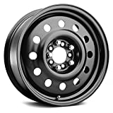 Pacer Black Modular 15 Black Wheel/Rim 5x100 & 5x110 with a 41mm Offset and a 72 Hub Bore. Partnumber 83B-5627