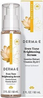 Derma-E Even-Tone Brightening Serum with Licorice Extract Vitamins B3 & C - 60 ML