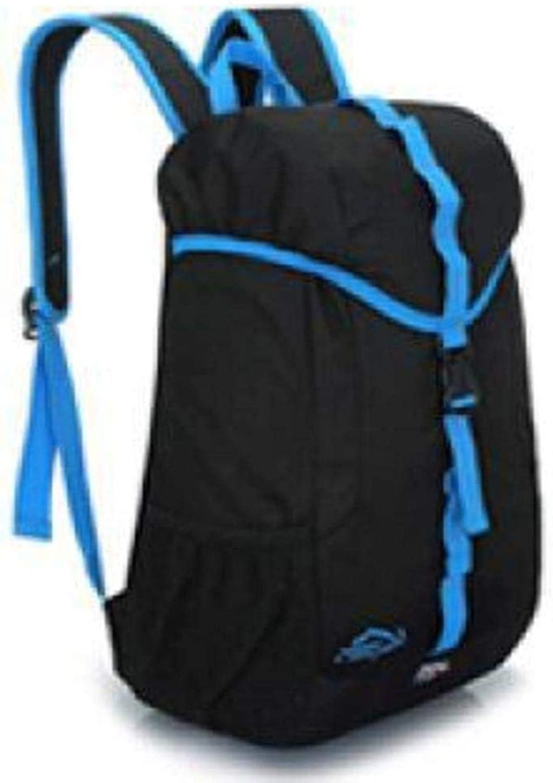 Outdoor Leisure Backpack Trekking Shoulder Bag wuJIAN (color   B)