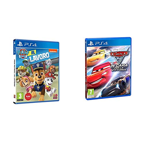 PAW Patrol: Al Lavoro - PlayStation 4 & Cars 3 PlayStation 4