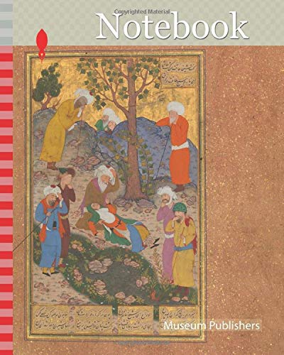 Notebook: Shaikh San'an and the Christian Maiden', Folio 22v from a Mantiq al-Tair (Language of the Birds), ca. 1600, Attributed to Iran, Isfahan, Opaque watercolor, silver