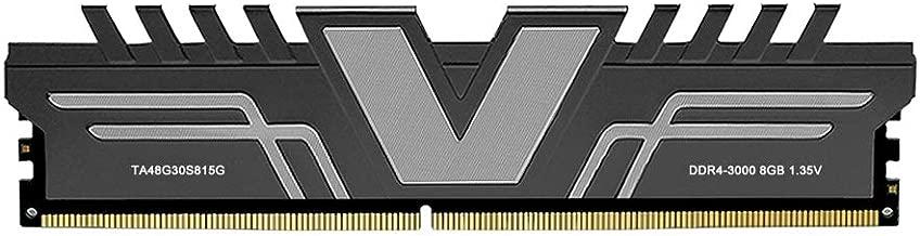 V-Color Skywalker Series 8GB (1 x 8GB) DDR4 3000MHz (PC4-24000) CL15 1.35V Desktop Memory Model Grey (TA48G30S815G)