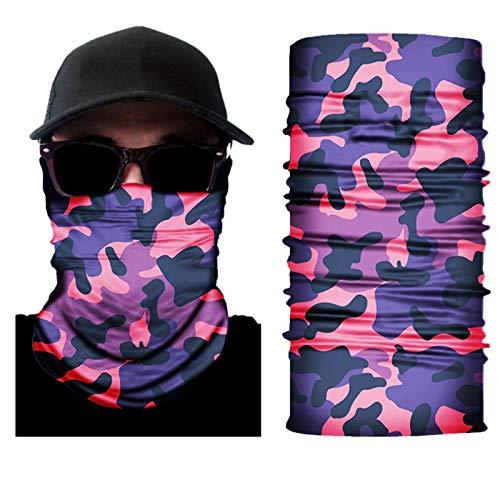 Yunbai 2ST Man Braga Cuello Mascara Balaclava Mask - Outdoor Angeln Sonnenschutz Anti-UV-Nahtlose...