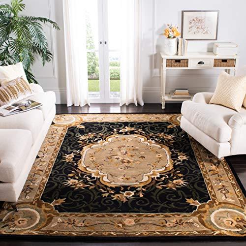 Safavieh Empire Collection EM414B Handmade Traditional European Premium Wool Area Rug, 5' x 8', Assorted