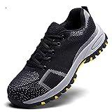 KINLANG - Zapatos de Seguridad para Hombre, Antideslizantes, Antideslizantes, 43 EU