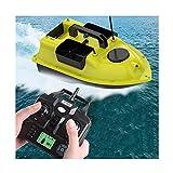 HYLDM Barco de Pesca RC, 2 kg de Carga 500 m de Distancia Barco de Cebo Barco de Cebo de Pesca Posición de GPS El Crucero automático con 3 contenedores de Cebo se Puede controlar de Form