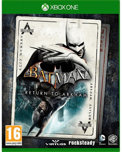 Batman Return to Arkham XB-One AT HD Collection Arkham Asylum & City