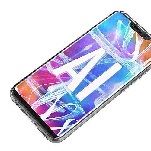 AICEK Compatible Huawei Mate 20 Lite Hülle, 360°Full Body Transparent Silikon Schutzhülle für Huawei Mate 20 Lite Case Durchsichtige TPU Bumper Huawei Mate 20 Lite Handyhülle (6,3 Zoll) - 6
