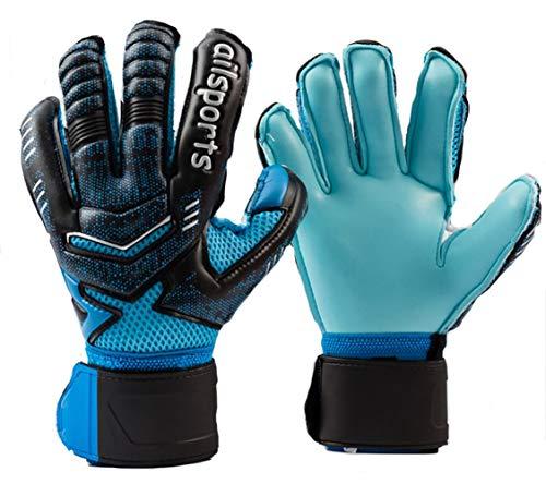 Qike Soccer Gloves Goalkeeper Protection Padded Football...