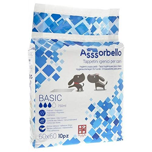 Ferribiella IGN021B Tappetini Igienici Asssorbello Basic, M, Bianco