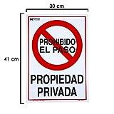 WOLFPACK LINEA PROFESIONAL 15051285 Cartel Propiedad Privada 41x30