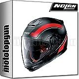 NOLAN CASCO MOTO CROSSOVER N40-5 GT RESOLUTE NERO MATTO 021 TG. S