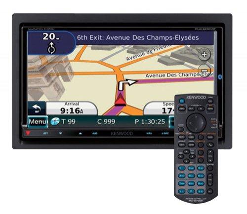 Kenwood DNX 9260 BT Moniceiver mit All-In-One Navigationssystem (17,7 cm / 7 Zoll Doppel-DIN Monitor, DVD Player, DivX-zertifiziert, USB) schwarz