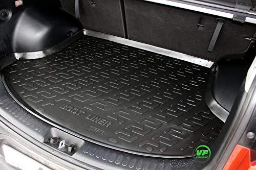J&J AUTOMOTIVE Premium Antirutsch Gummi-Kofferraumwanne für alle KIA SPORTAGE 2010-2015