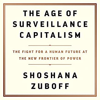 The Age of Surveillance Capitalism audiobook cover art