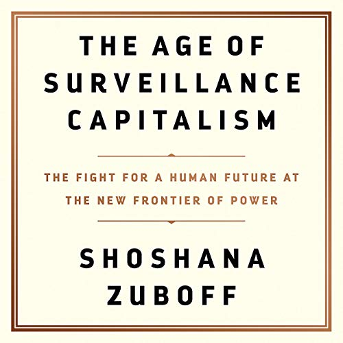 Page de couverture de The Age of Surveillance Capitalism