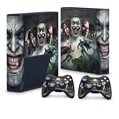 Skin Adesivo para Xbox 360 Super Slim - Injustice