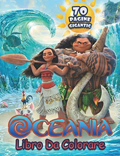Oceania Libro Da Colorare