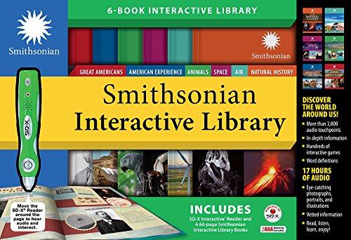 Publications International, Ltd. Biblioteca interactiva de Smithsonian - incluye 6 libros