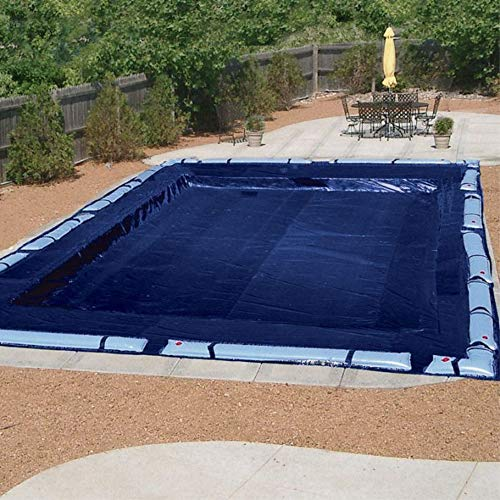 Doheny's Commercial-Grade Winter Pool Covers for Above Ground Pools | Featuring Exclusive Tear Resistant Weave | The Best Winter Covers for Le$$! (16' x 32', Economy - 4 Yr.)