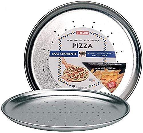 IBILI 802428 - Molde Pizza Crispy Estañado 28 Cms.