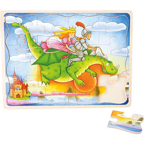 Legler - Jouets de construction et puzzle - Puzzle cadre Vol du dragon