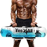 Yes4All Aqua Weight Bags for Full Body Training - Substitute for Sandbag, Gym Bag - Portable Stability Fitness Equipment - Weight Bags Workout - Aqua Fitness Bag - Full Capacity 49 Lbs