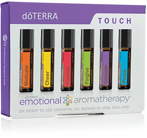 doTERRA - Emotional Aromatherapy System Touch Kit - 6 Roll-ons (10 mL Each)