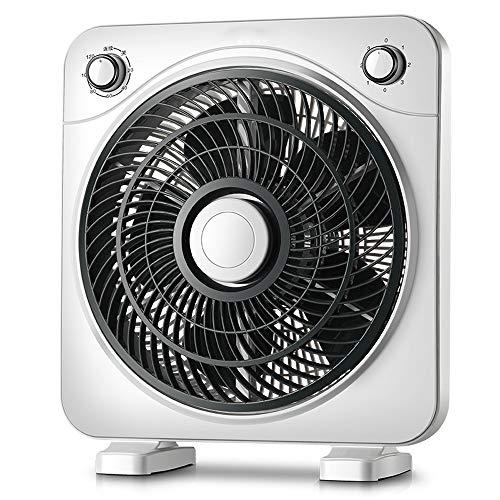 Byx Elektrische ventilator, voor op het bureau, draaibaar, statisch geluid, voor kantoor, studenten, studenten, mini-ventilator, vermogen 40 W, elektrische ventilator