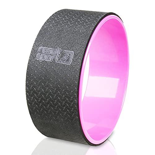 ResultSport Premium Yoga Wheel (Pink)