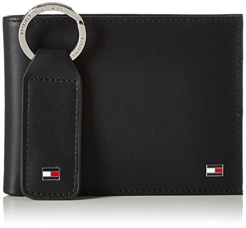 Tommy Hilfiger Eton CC And Coin Pckt Keyfob Box, Portafoglio Uomo, Nero (Black), 1x1x1 centimeters (W x H x L)