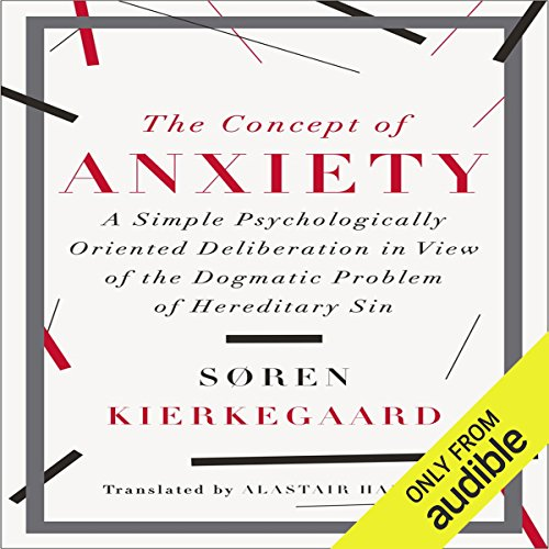 The Concept of Anxiety audiobook cover art