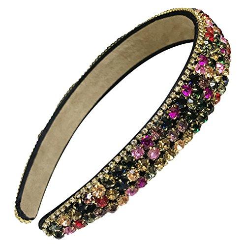 Frcolor - Diadema para el pelo con diamantes de imitación p