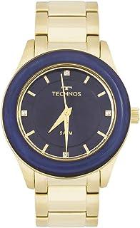 3452b4659f2 Relógio Technos St.moritz 2036MGK 4A Dourado