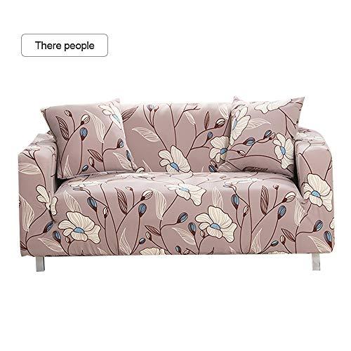 Shujin Elastischer Sofabezug Sofahusse 1/2/3/4 Sitzer Sofa Überwürf Stretch Sofabezüge Couchbezug Sofa Abdeckung Muster Hussen für Sofa Couch Sessel