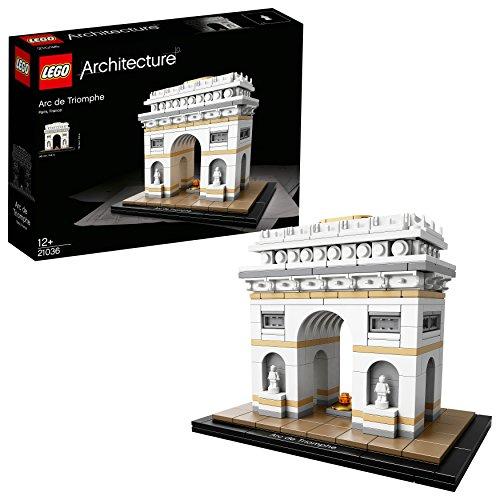 """Lego Architecture 21036 - \""""Der Triumphbogen Konstruktionsspiel, bunt"""